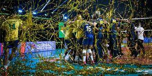 حضور مجازی سرمربی والیبال برزیل در جشن قهرمانی +عکس