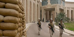 سفارت و پایگاههای آمریکا در عراق در حالت آمادهباش قرار گرفتند +فیلم