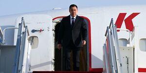 رئیس جمهور قرقیزستان وارد «دوشنبه» شد +عکس