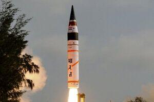 آزمایش موفقیت آمیز موشک جدید بالستیک هند