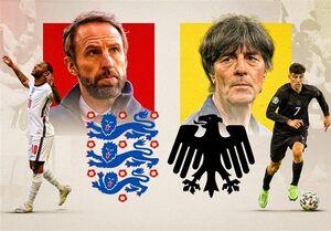 اعلام ترکیب تیمهای ملی انگلیس و آلمان