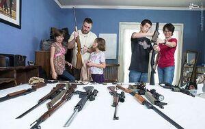 کودکان مسلح در شهر تگزاس!+ فیلم