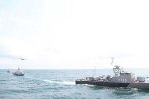 تمرین دریایی امنیت پایدار ۱۴۰۰ نیروی دریایی ارتش پایان یافت
