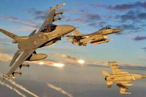 حمله هوایی و زمینی ترکیه به مواضع پکک در شمال عراق - کراپشده
