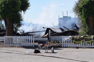 آتش سوزی کلیسا