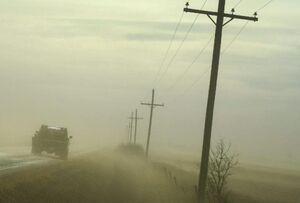 بازداشت منتشرکننده فیلم طوفان گرد و غبار در کویت!