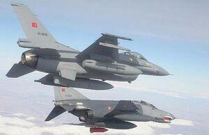 حملات هوایی ترکیه به شمال عراق