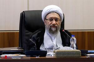 پیام تبریک آیت الله آملی لاریجانی به رئیس جدید قوه قضائیه