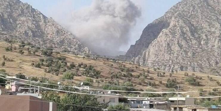 حمله هوایی و زمینی ترکیه به مواضع پکک در شمال عراق