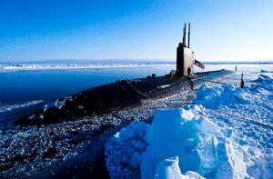 آغاز رزمایش زیردریاییهای روسیه در قطب شمال