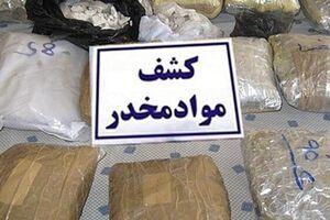 کشف ۵۴۰ کیلو مواد مخدر در پاتک ضربتی پلیس - کراپشده
