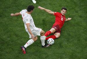 بازگشت سوئیس به جام با گل تساوی به اسپانیا