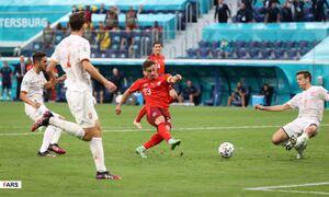 فیلم/خلاصه بازی سوئیس ۱ (۱)-(۳) ۱ اسپانیا