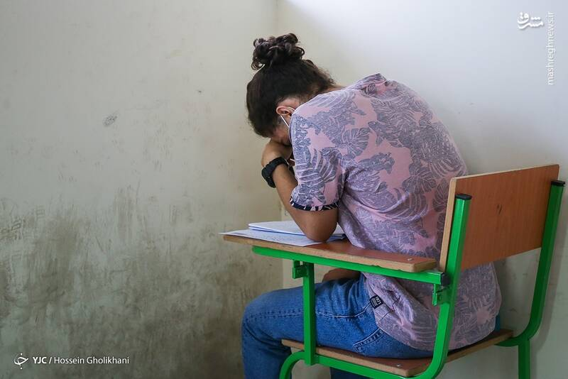 عکس/ آزمون س سری ۱۴۰۰ در قزوین