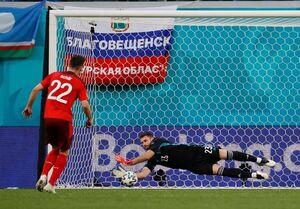 اونای سیمون؛ بهترین بازیکن دیدار سوئیس و اسپانیا