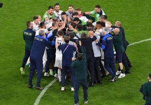 رکوردشکنی ایتالیا با صعود به مرحله نیمه نهایی یورو