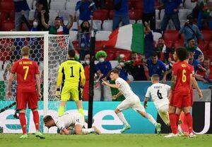 صعود ایتالیا با حذف بهترین تیم جهان/ آتزوری حریف اسپانیا در نیمه نهایی شد +فیلم