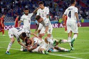 فیلم/ خلاصه بازی ایتالیا ۲ - بلژیک ۱