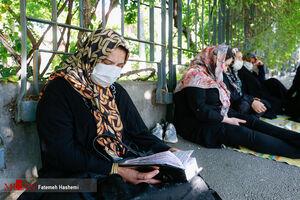 عکس/ دست به دعا شدن برای موفقیت کنکوریها