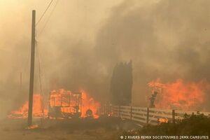 قربانیان گرمای بیسابقه و آتشسوزی در کانادا به 719 نفر رسید