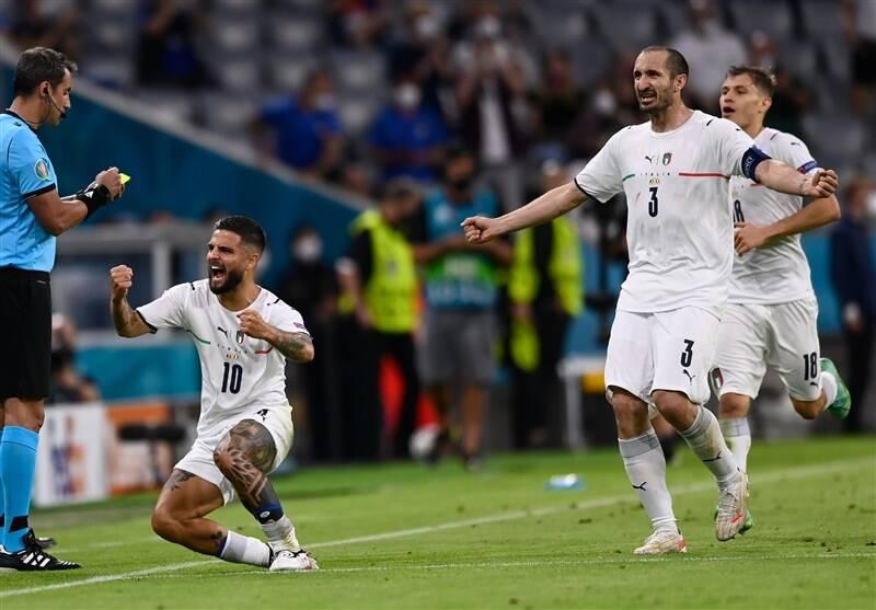 صعود ایتالیا با حذف بهترین تیم جهان/ آتزوری حریف اسپانیا در نیمه نهایی شد