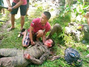 تصویر مصدومان سقوط هواپیما در فیلیپین