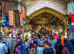 فیلم/ شتر گاو پلنگ تعطیلی بازار تهران