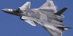زنگ خطر چین برای آمریکا با پرواز 15 فروند جنگنده «جی-20»