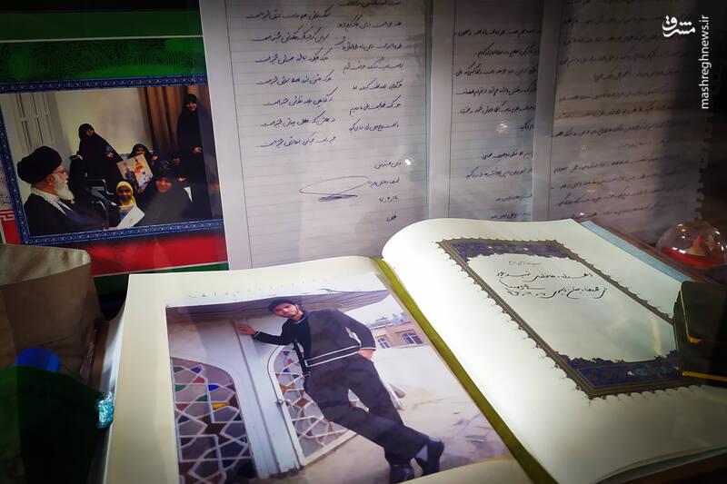 «حاج قاسم» با انگشتر شهید مدافع حرم، چه کرد؟ + عکس