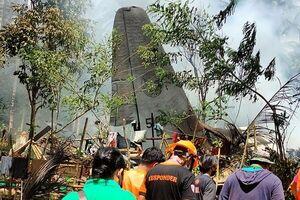 سقوط هواپیما در فیلیپین ۵۰ کشته و ۴۹ زخمی در پی داشت