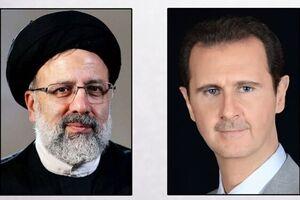 گفتوگوی تلفنی «بشار اسد» با سید ابراهیم رئیسی