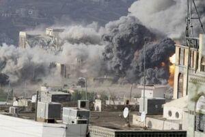 ائتلاف سعودی ۱۴ مرتبه استانهای مارب و البیضا یمن را بمباران کرد