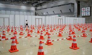 مرکز تست کرونا برای خبرنگاران در بازیهای المپیک 2020