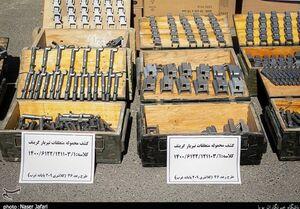 عکس/ کشف محموله متعلقات سلاح «گرینف» در تهران