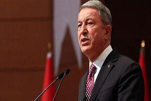 وزیر دفاع ترکیه با همتای آمریکایی خود گفتگو میکند