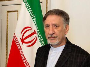 تحویل استوارنامه سفیر جدید ایران به ملکه انگلستان