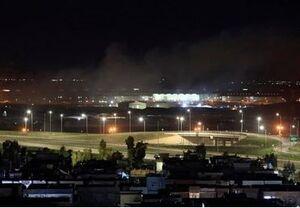 حمله ۳ پهپاد با ۲۰ راکت به پایگاه آمریکا در فرودگاه اربیل