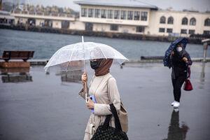 عکس/ باران تابستانی در استانبول
