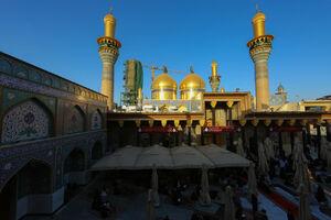 عکس/ حال و هوای حرم امامین کاظمین(ع)
