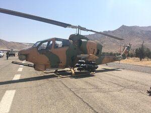 تجهیز بالگردهای سپاه به موشک نقطهزن جدید +عکس