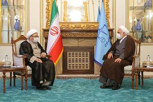 آیتالله لاریجانی با رئیس قوه قضائیه دیدار کرد
