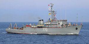 عملیات موفق مین روبی نیروی دریایی روسیه در واکنش به رزمایش ناتو