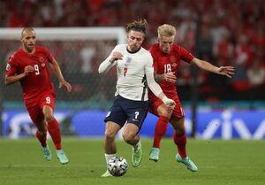 تساوی دانمارک و انگلیس بازی را به وقتهای اضافه برد