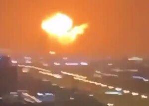 فیلم/ انفجار در نفتکش اماراتی یک روز بعد از اختلافات با ریاض