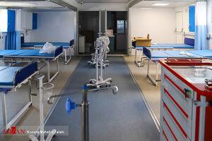 عکس/ راه اندازی بیمارستان سیار احسان -در زاهدان