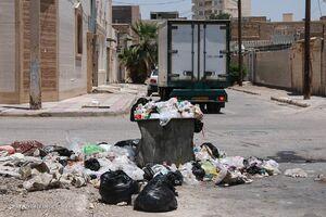 عکس/ خرمشهر در محاص زبالهها