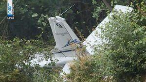 ۳ کشته در سقوط هواپیمای لبنانی