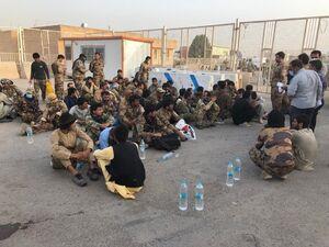 فیلم/ نظامیان افغانستان به ایران پناه آوردند