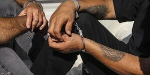 دستگیری عوامل زورگیری از پژو ۲۰۶ در اتوبان کرج