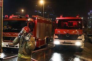 صدای انفجار در غرب تهران - کراپشده